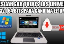 Descarga los drivers para la canaima docente o profesores con windows 10