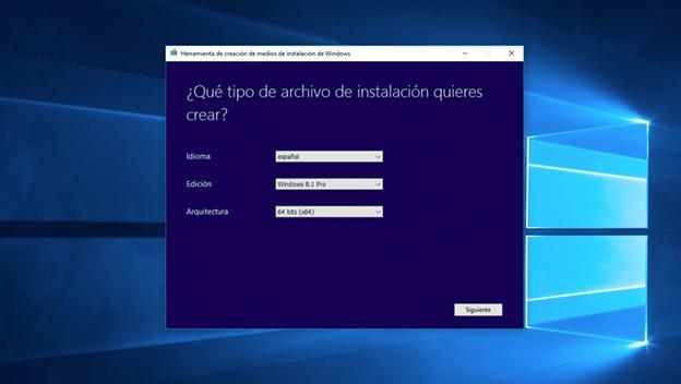 herramienta de creacion archivo iso windows 8.1