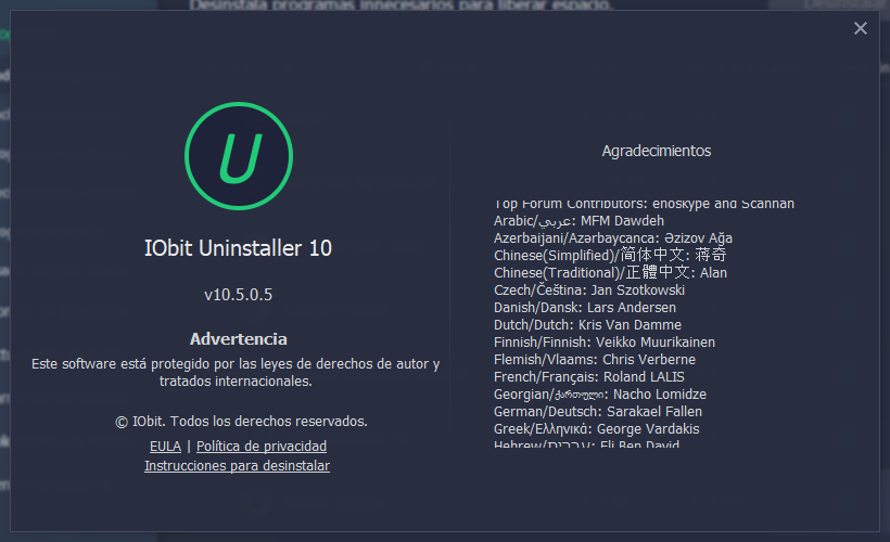 iobit uninstaller pro 10.5 full activado