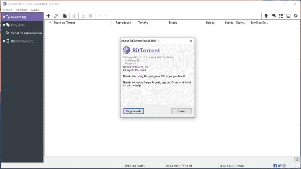 BitTorrent 7.10.5 Build 46011 full crack