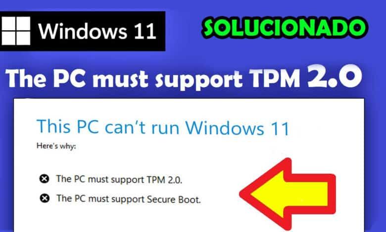 como se puede instalar windows 11 sin tpm